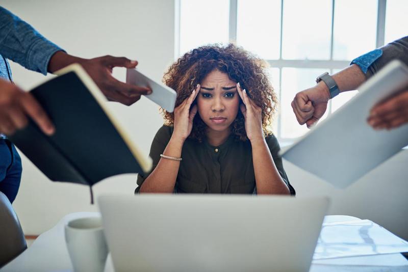 نقش استرس در بهداشت خواب